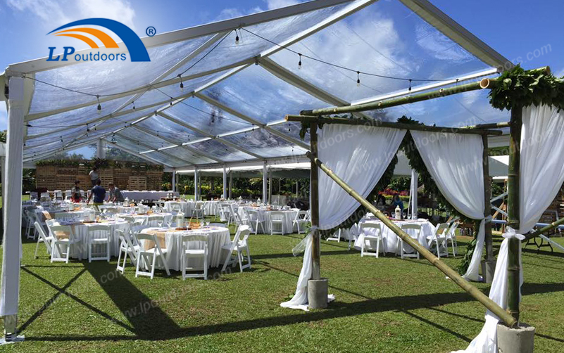 Why Not Choose an Outdoor Wedding Marquee Tent for Your Fabulous Banquet