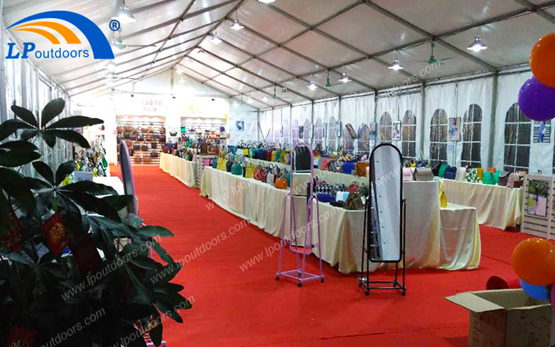 Can a 10x30m Outdoor Waterproof Sunshade Temporary Sales Exhibition Tent Improve the Advertising Effect