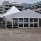 Outdoors aluminum frame luxury mixed marquee tent for party event