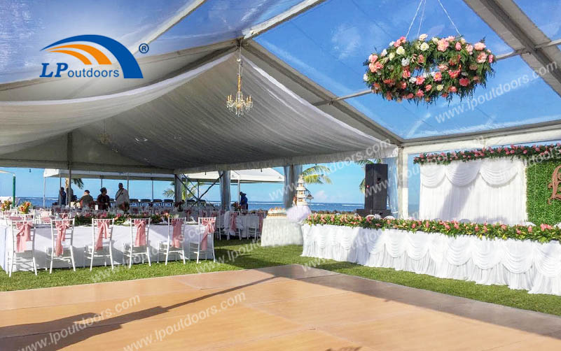 Holy & Pure Theme Outdoors Party Luxury Wedding Tent With Different Experience
