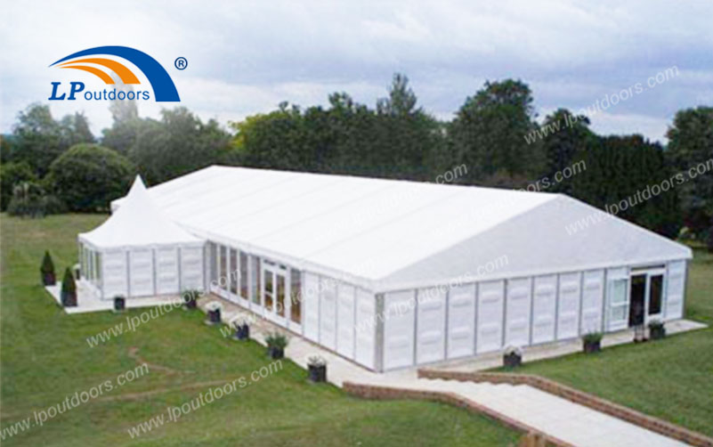 Outdoor Big Party Marquee Tent With High-quality Sidewalls